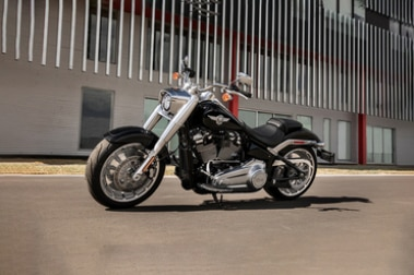 Harley Davidson Fat Boy Front Left View