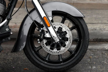 Indian Chieftain Front Tyre View