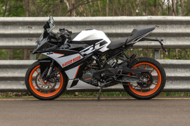 KTM RC 125 Left Side View