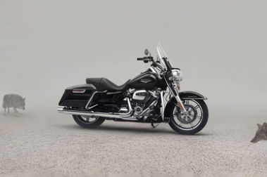 Harley Davidson Road King Front Right View