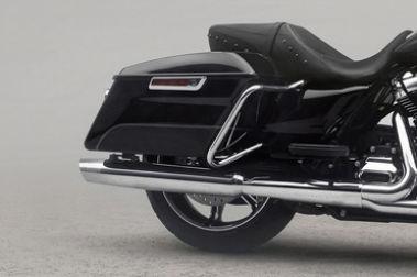 Harley Davidson Road King Rear Tyre View