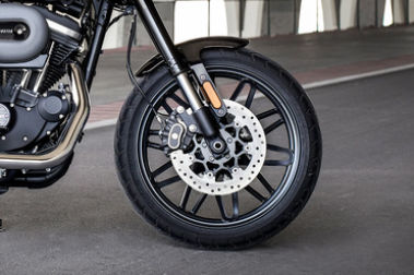 Harley Davidson Roadster Front Tyre View