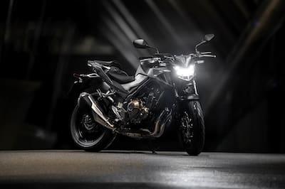 Honda CB500F Right Side View