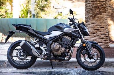 Honda CB500F Left Side View