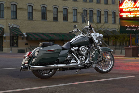 Harley Davidson Road King Rear View