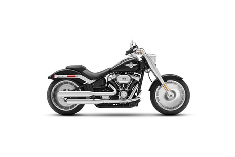 Harley Davidson Fat Boy Vivid Black