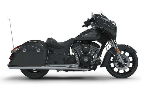 Indian Chieftain Steel Grey
