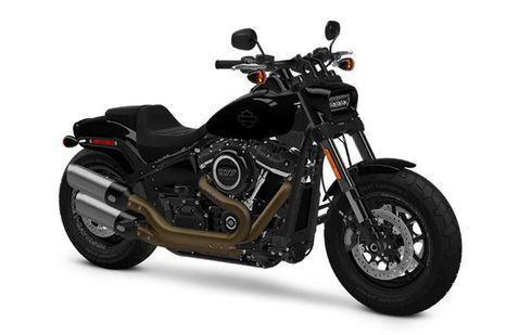 Harley Davidson Fat Bob Vivid-Black