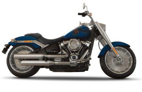 Harley Davidson Fat Boy Legend-Blue-Denim
