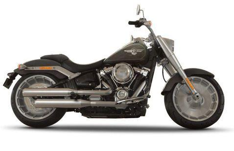 Harley Davidson Fat Boy Industrial-Gray