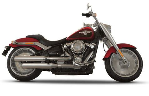 Harley Davidson Fat Boy Wicked-Red-And-Twisted-Cherry