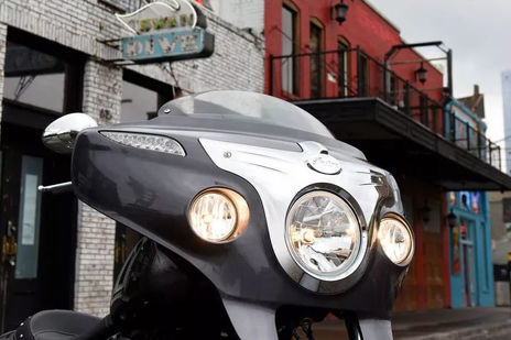 Indian Chieftain Head Light