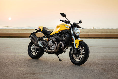 Ducati Monster 821 Front Right View