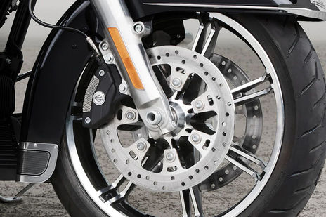 Harley Davidson Road King Front Brake View