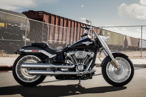 Harley Davidson Fat Boy 114 Right Side View