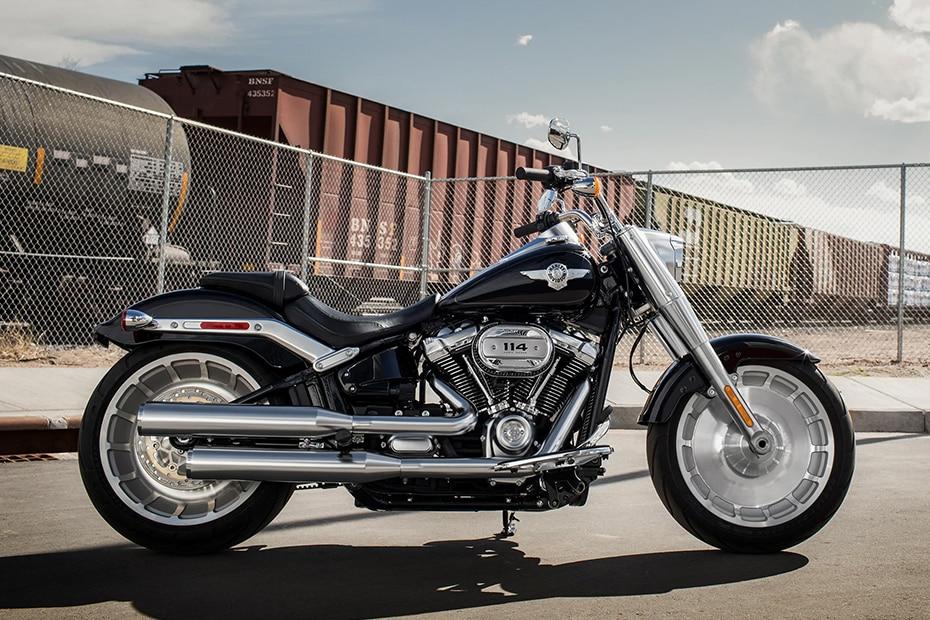 Harley Davidson Fat Boy Right Side View