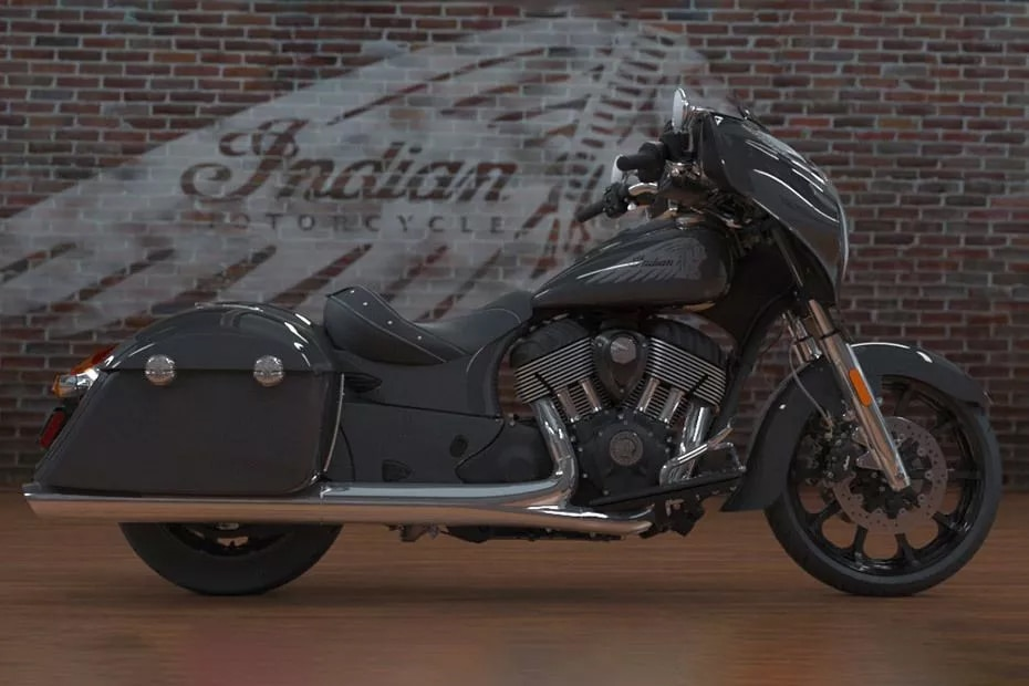 Indian Chieftain Right Side View