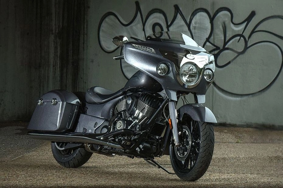Indian Chieftain Front Right View