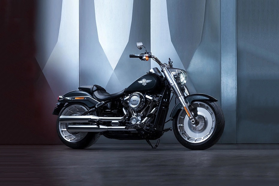 Harley Davidson Fat Boy Right Side View