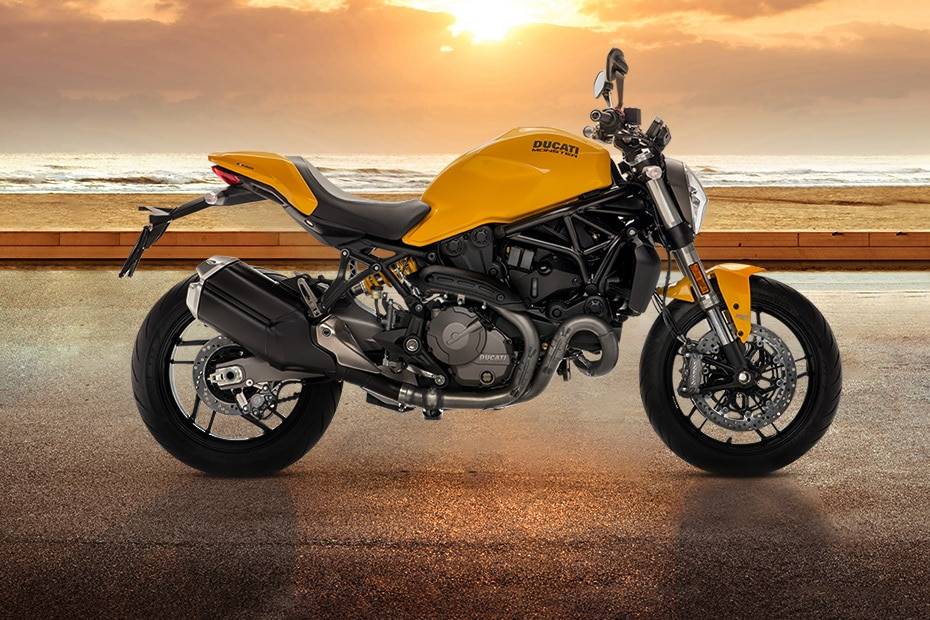 Ducati Monster 821 Right Side View