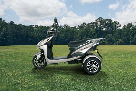 Amo Mobility Jaunty-3W Left Side View