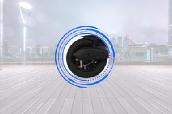 Ampere Reo Elite Rear Tyre View