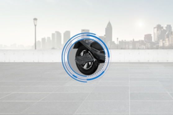 Ampere V48 Rear Tyre View