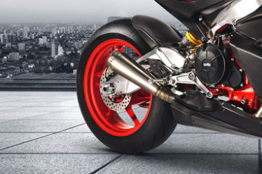 Aprilia RS 660 Rear Tyre View