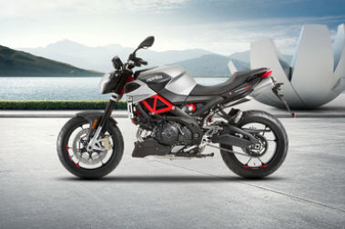 Aprilia Shiver 900 Left Side View