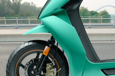 Ather 450X Front Suspension View