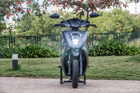 Ather 450X Front View