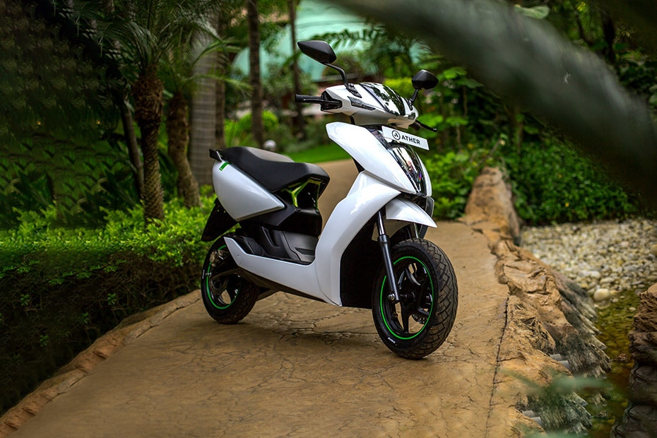 Ather 450 Price, Mileage, Images, Colours, Specs, Reviews