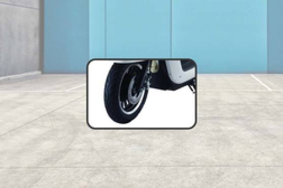 Avera Retrosa Front Tyre View
