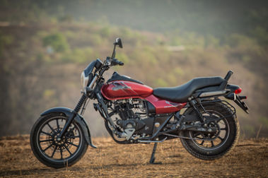 Bajaj Avenger Street 160 Left Side View