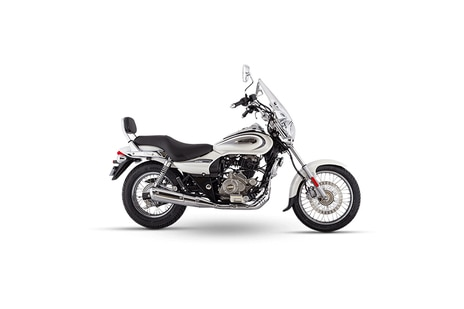 Bajaj Avenger Cruise 220 Moon White