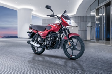 Bajaj CT100 Front Right View