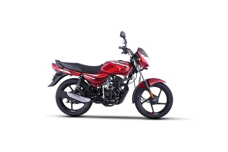 Bajaj CT 100 Red With Bright Red