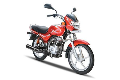 Bajaj CT 100 Flame Red