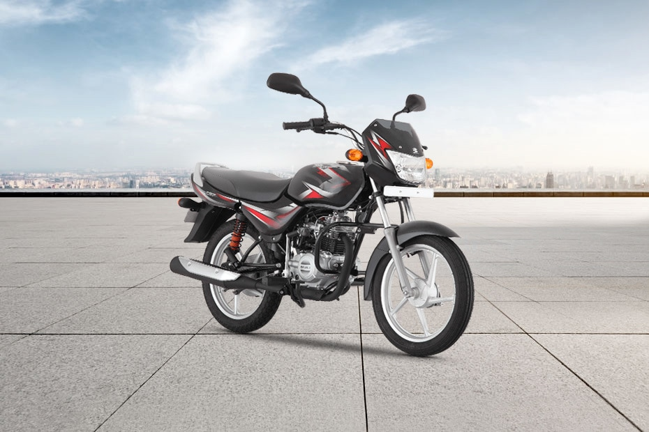 Bajaj CT 100 KS Spoke CBS