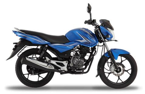 Bajaj Discover 100 M Brilliant Blue