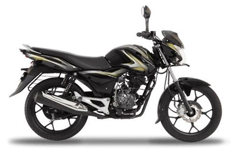 Bajaj Discover 100 M Midnight Black&Olive