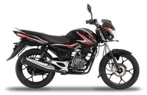 Bajaj Discover 100 M Midnight Black&Red