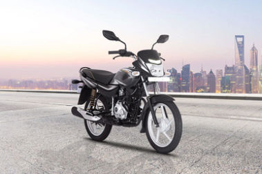 Bajaj Platina 110 Front Right View
