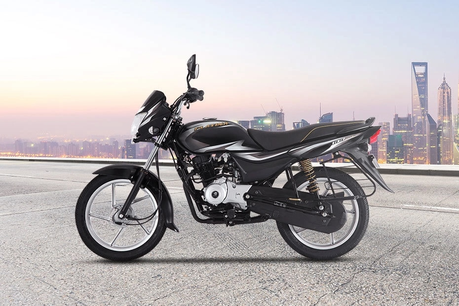 Bajaj Platina 110 Left Side View