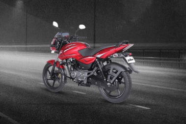 Bajaj Pulsar 150 Rear Left View