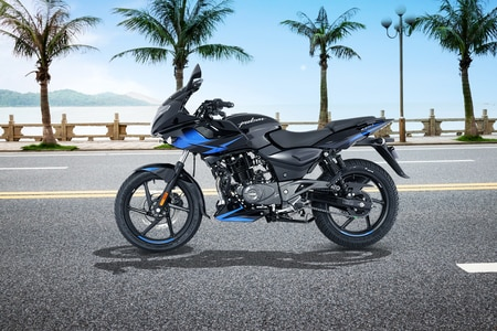 Bajaj Pulsar 220 F Left Side View