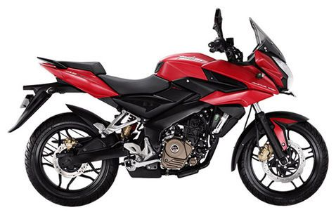 Bajaj Pulsar AS 200 Fiery Red