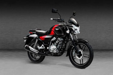 Bajaj V15 Power Up Front Right View