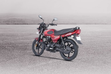 Bajaj CT110 Rear Left View
