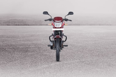 Bajaj CT110 Front View